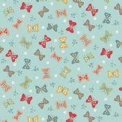 Makower UK - Ellie - 6229 - Butterflies on Pale Blue - 2068_T - Cotton Fabric